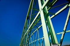 Still construction of bridge Stock Images