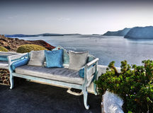 Patio Furniture Outdoor, Seaview  Stock Photo