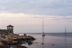 Still Evening in Rockport Royalty Free Stock Photo