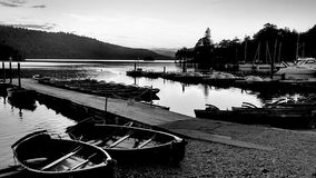 Still. Evening shot in the Lake district Royalty Free Stock Images