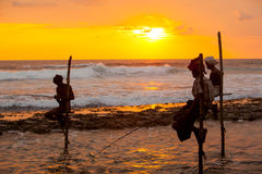 Still fisherman's - Sri Lanka Royalty Free Stock Images