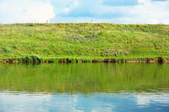 Still freshwater lake Stock Photography