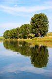 Still freshwater lake Stock Images