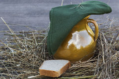 Still after harvest. After a successful harvest bread royalty free stock image