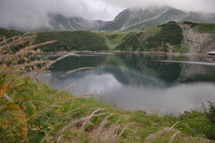 Still lake in Kurobe Toyama Royalty Free Stock Photos