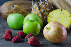 Still lfe of mix fruits Royalty Free Stock Photography