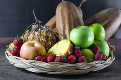 Still lfe of mix fruits Royalty Free Stock Photo