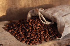 Still life. Coffee beans, roasted coffee, still life Royalty Free Stock Photography