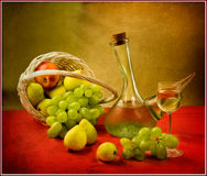 Still life. Beautiful still life with fruit Royalty Free Stock Images