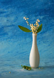 Still life. With lily of the valley Royalty Free Stock Photo