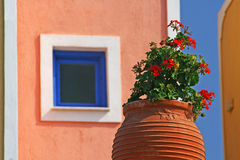 Still-life in Akrotiri Stock Photo