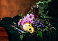 Still life in antique style Royalty Free Stock Photography