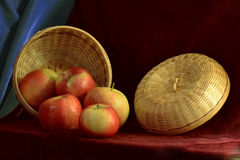 Still life with apple Royalty Free Stock Photos