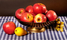 Still life with apples Royalty Free Stock Photo
