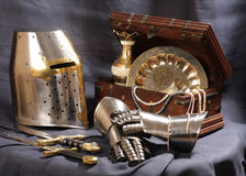 Still-life with an armour Royalty Free Stock Images