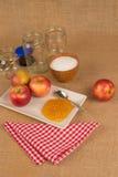 Homemade apple marmalade Royalty Free Stock Photos
