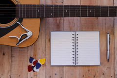 Still life art photography music and memories concept Stock Images