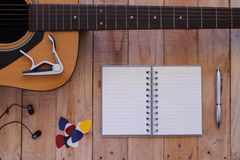 Still life art photography music and memories concept Royalty Free Stock Photos
