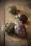 Still life with artichoke Stock Photography