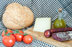 Still life with artisan bread Royalty Free Stock Image