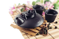 Still Life with Asian teapot Stock Image