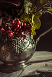 Still life with autumn flowers Stock Image