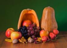 Still life of autumn fruits Stock Photo