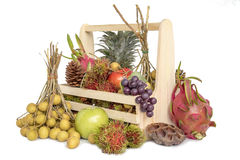 Still life with autumn fruits Stock Image