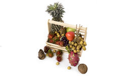 Still life with autumn fruits Stock Photo