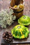 Still life with autumn squash Stock Photo