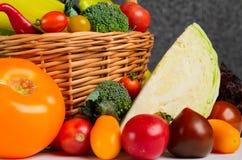 Still life of autumn vegetables Stock Photos