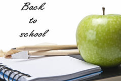 Still life about back to school Royalty Free Stock Photos