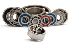 Still life from ball bearings Royalty Free Stock Photos
