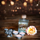 Still life for beauty and wellness Royalty Free Stock Image