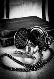 Still life in black and white. royalty free stock photo