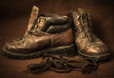 Still life with boots Royalty Free Stock Photography