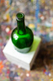 Still life bottle art model Royalty Free Stock Photo