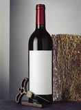 Still life with bottle of red wine Royalty Free Stock Image