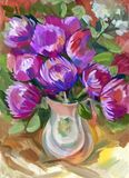 Still life a bouquet of flowers Royalty Free Stock Photos