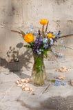 Still life bouquet Stock Photos