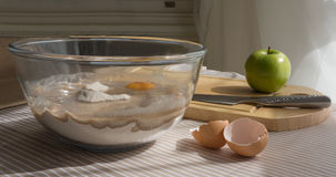 Still-life, Bowl Of Cake Mixture. Stock Images