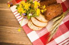 Still life with bread Stock Photo