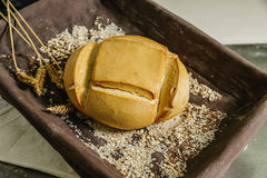 Still life of bread. Royalty Free Stock Photography