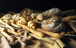 Still Life with bread Royalty Free Stock Images