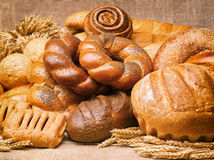 Still life of bread, loaves, bread. Royalty Free Stock Image