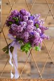 Still life of a bridal bouquet. Royalty Free Stock Photo