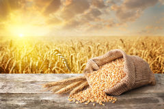 Still life bulgur wheat Royalty Free Stock Photos