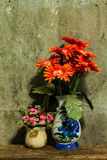 Still life with a bunch of flower Stock Photo