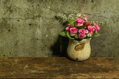 Still life with a bunch of flower Stock Photography