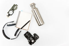 Still life of casual man. Modern male accessories Royalty Free Stock Photography